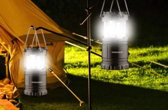 Lanterna da campeggio: quale scegliere?
